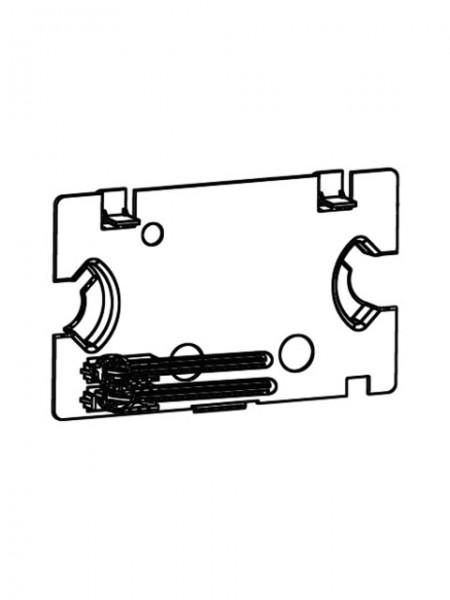 030490099 SCHELL Spritzschutzplatte inkl. Drücker- bolzen für SCHELL Unterputz-Spülkasten