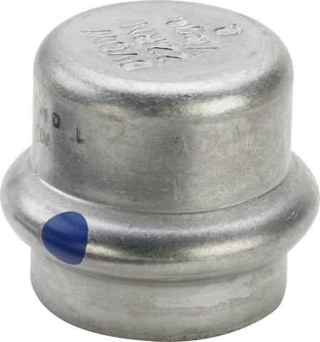 Viega Verschlusskappe SC-Contur Sanpress Inox 2356LF in LABS-frei in 18mm
