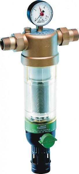 Honeywell Hauswasser-Feinfilter F76S Messing AF, 1 1/2&quot