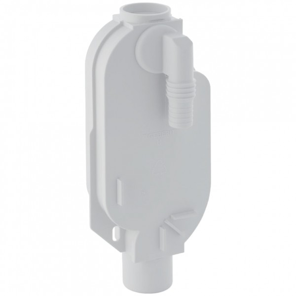 Geberit Unterputzspülkästen-Geruchsverschluss geschwarzeisst für Waschmaschine weiß-alpin