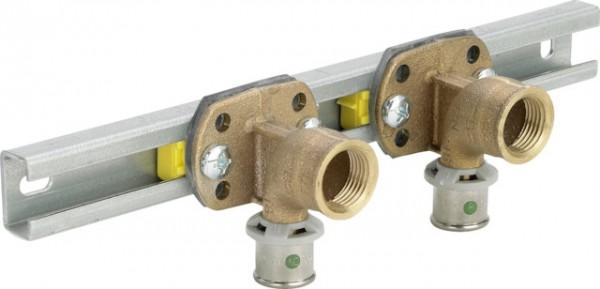 Viega Montageeinheit mit SC-Contur Sanfix 2141 in R1/2 x 16mm Rotguss