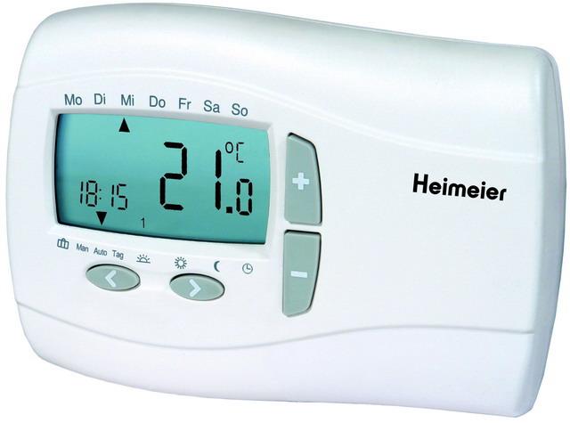 heimeier thermostat p digitaler7 tage uhr 230 v f r. Black Bedroom Furniture Sets. Home Design Ideas