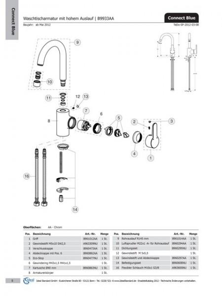 Ideal Standard AERATOR M22X1-A ChromE