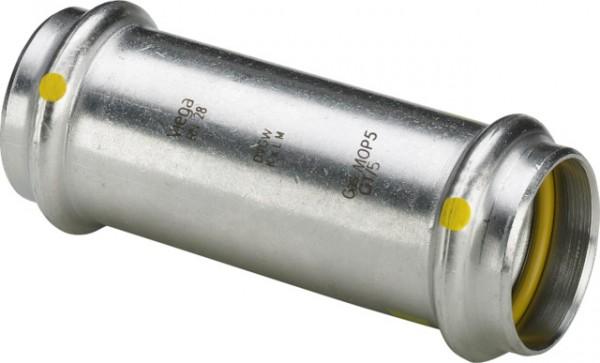 Viega Schiebemuffe m. SC-Contur Sanpress Inox G 0215.5 für Gas in 54mm Edelstahl