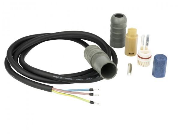Danfoss Heizbandan-/Endabschluss Set, Connecto AE, mit Zuleitung 1,5m(3x1,5mm2)