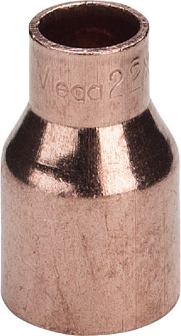 Viega Absatznippel 95243 in 108mm Außenlötende x 76mm Kupfer