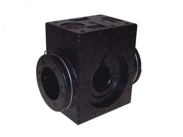 Danfoss EPP-Isolierschale DN 25, schwarz, bis 120 C, für ASV-P/PV/I/M und USV-I/M