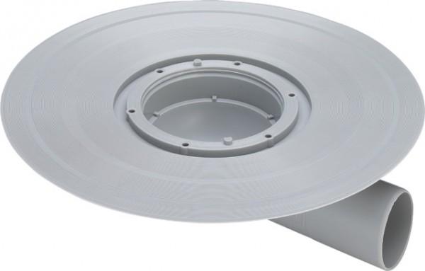 Viega Balkon-/Terrassenablauf Advantix 4943.21 in 50mm Kunststoff grau