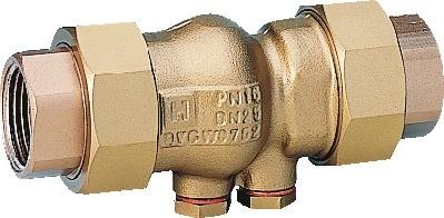 Honeywell Rückflussverhinderer RV281 Messing A, 1 1 /4 &quot