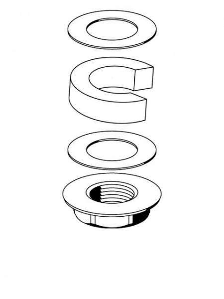 259440099 SCHELL Befestigungsset PETIT SC für Waschtischbefestigung Ausführung2006