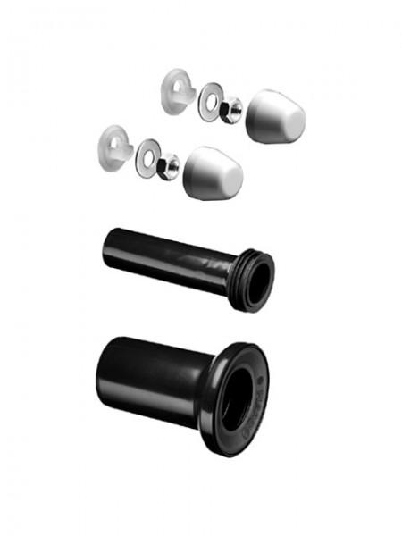 SCHELL WC Zu- und Ablaufset für wandhängendes WC mit Ablaufrohr 90mm