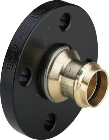 Viega Flansch mit SC-Contur Sanpress 2259.5 in 42mm Siliziumbronze