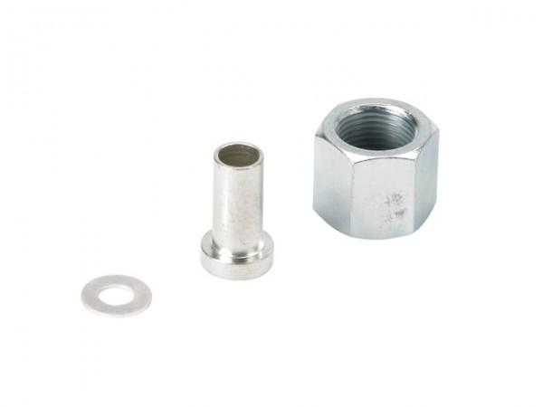 Danfoss Schweißnippel für Stahlrohr, d:=6/10 mm mitÜberwurfmutter R3/8