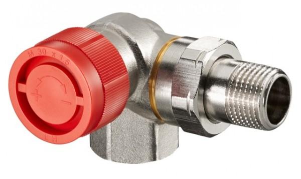 """Oventrop Thermostatventil """"AF"""" DN15, R 1/2"""", PN10, Winkeleck links"""