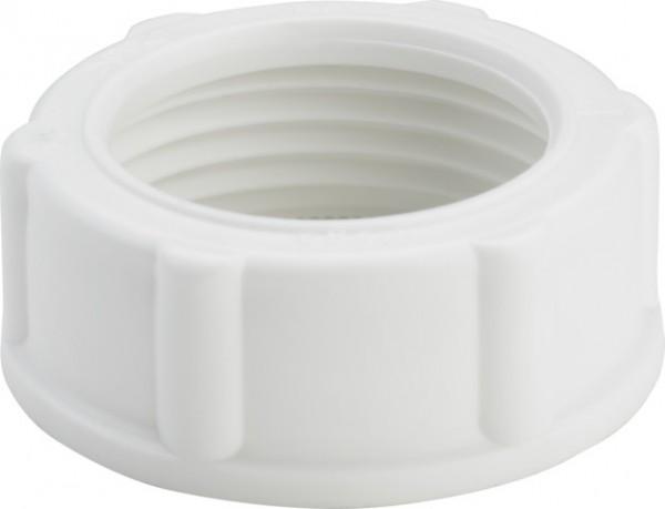 Viega Überwurfmutter 792-654 in G1 Kunststoff weiß