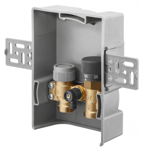 Oventrop Unibox TQ-RTL vario Thermostat, RTL, Q-Tech, ohne Abdeckung