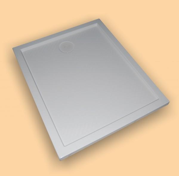 Hüppe Duschwanne Purano 4-Eck 80/120, weiß