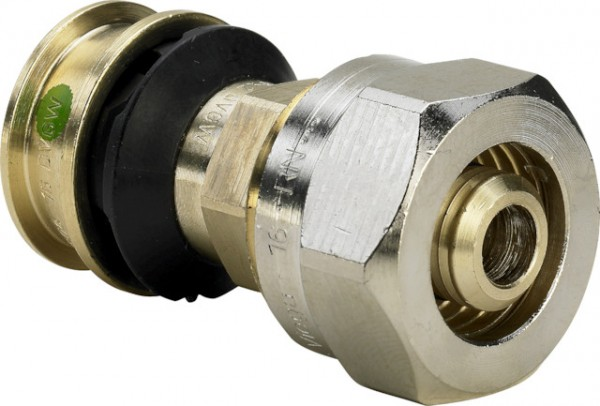Viega Übergangsverschraubung Raxofix 5313.5 in 16mm Siliziumbronze
