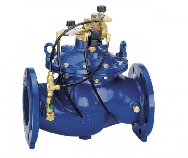 Honeywell Magnetventil MV300 GGG pulverbeschichtet blau DN 80 A