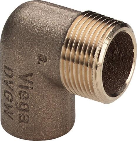 Viega Winkel 94092G in 12mm x R3/8 Rotguss