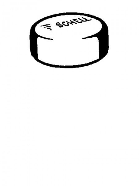 230050699 SCHELL Druckknopf komplett für Spülarmatur Milano chrom
