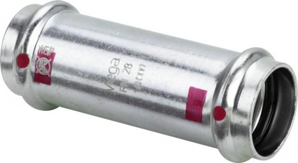 Viega Schiebemuffe mit SC-Contur Prestabo 1115.5 in 15mm Stahl verzinkt