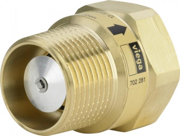 Viega Gas-Strömungswächter 2647.2S in Rp3/4 x R3/4 x (2,5m3) Messing