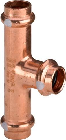 Viega T-Stück mit SC-Contur Profipress S 4518 in 28mm Kupfer