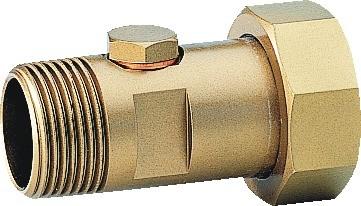 Honeywell Rückflussverhinderer RV277 Messing, vorschaltbar A, 1 1/2 &quot