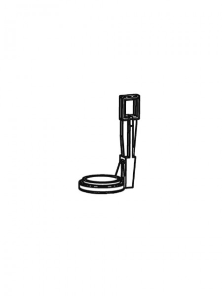 776400099 SCHELL Zugbügelklammer mit Drehring für SCHELl Unterputz-Spülkasten