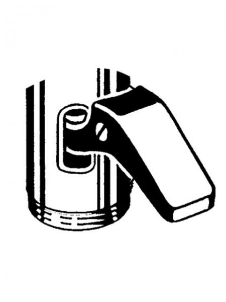 294210699 SCHELL Hebel komplett mit Hebelschraube für SCHELLOMAT WC-Spülarmatur