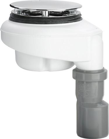 Viega Ablaufgarnitur Tempoplex 6962 in 112mmxDN40/50 Kunststoff verchromt