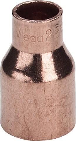 Viega Absatznippel 95243 in 89mm Außenlötende x 64mm Kupfer