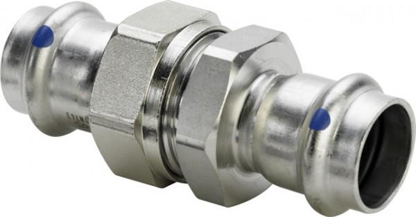 Viega Verschraubung mit SC-Contur Sanpress Inox 2360LF in LABS-frei in 15mm
