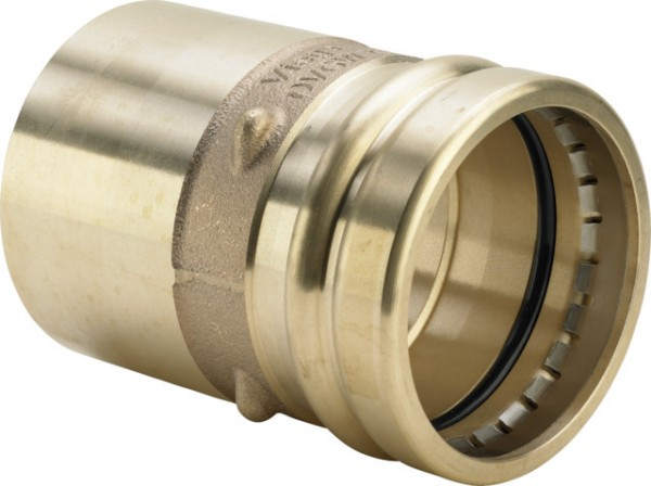 Viega Reduzierstück mit SC-Contur Sanpress XL 2215.1XL in 88,9x54mm Rotguss