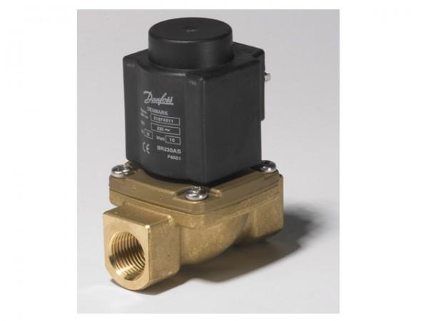 Danfoss Magnetventile EV225B 10BD, G 1/2, servogeStück, stromlos geschlossen (NC)