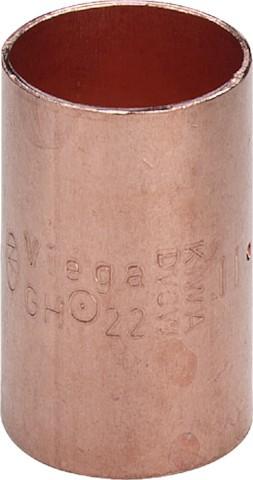 Viega Muffe 95270 in 28mm Kupfer