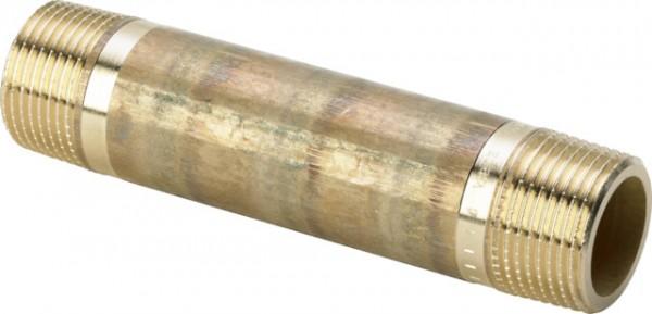 Viega Langnippel 3530 in R1 x 200mm Rotguss