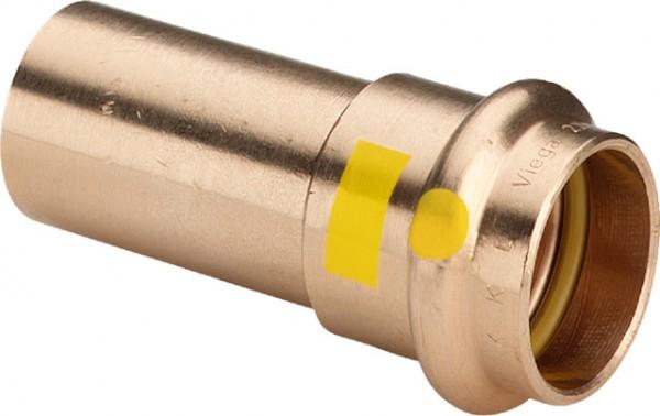 Viega Übergangsstück mit SC-Contur Profipress G 2613 für Gas in 15mm Rotguss