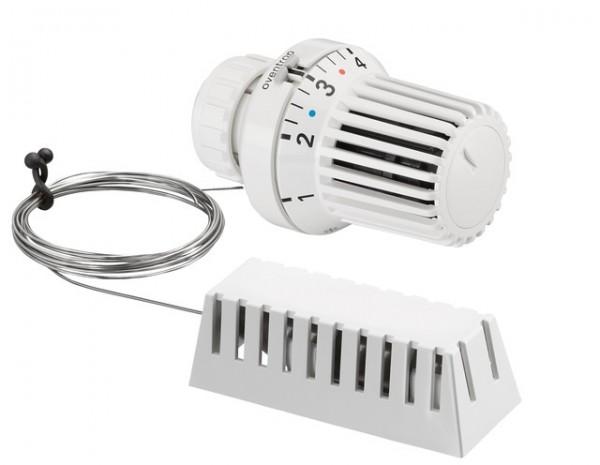"""OVENTROP-Thermostat """"Uni XD"""" 7-28 C, 0 * 1-5, Fernfühler 2m, weiß"""