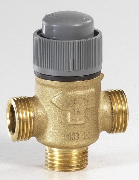 Honeywell Dreiwegeventil PN 16, regelnd 15, 0,63, 6 bar maximaler Schließdruck