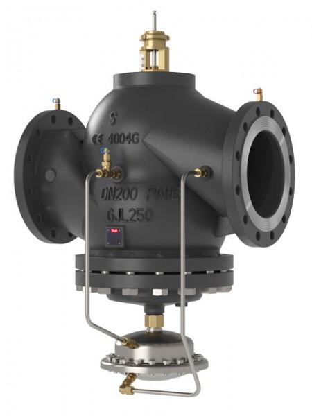 Danfoss automatisches Kombiventil AB-QM 250, DN 250, Flansch, 112000 - 336000 l/h