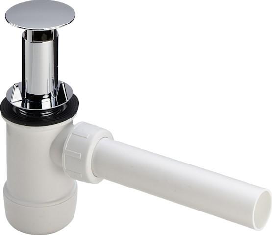 Viega Flaschengeruchverschluss 5420 in G1 1/4 Kunststoff verchromt