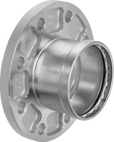 Viega Flanschübergang SC-Contur Sanpress Inox 2359XLLF in LABS-frei in 64,0mm