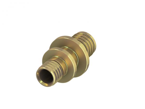 TECEflex Kupplung reduziert Messing