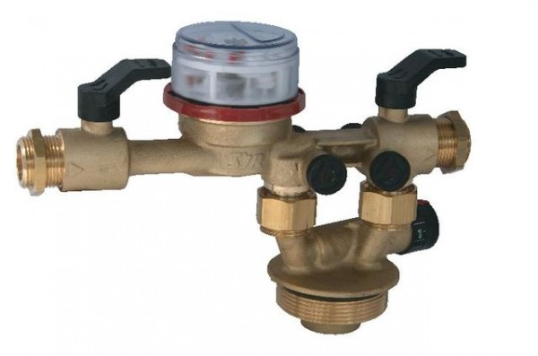 Syr Wasserzähler, zur Heizungswasserenthärtung