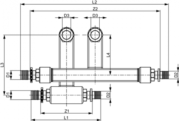 TECEflex SLHK-Anschlussgarnitur
