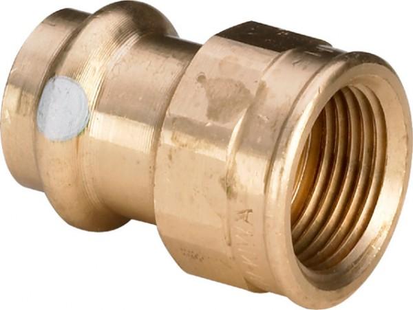 Viega Übergangsstück mit SC-Contur Profipress S 4512 in 22mm x Rp3/4 Rotguss