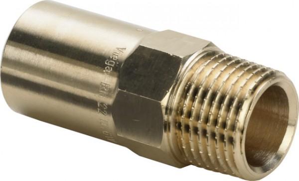 Viega Einsteckstück Sanpress 2211.1 in 18mm x R1/2 Siliziumbronze